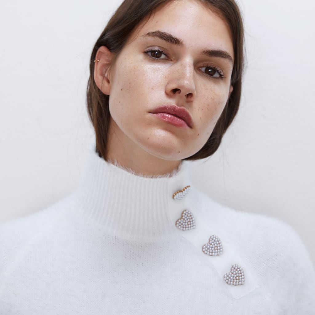 2019 ZA jesień moda na co dzień biały i czarny sweter kobiety odzież Trendy Off Shoulder Sexy Pulloovers biuro pani znosić