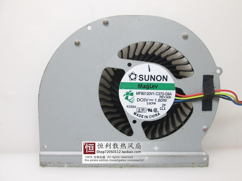CPU Cooling Fan For DELL Latitude E6430 CPU 2W MF60120V1-C370-G9A
