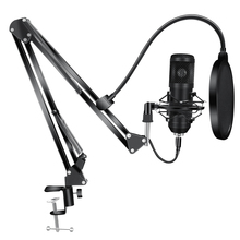 192KHz/24Bit Condenser Microphone Kits BM 800 USB Mic for Youtube PC Recording Microfone D78 Mic with Shock Mount