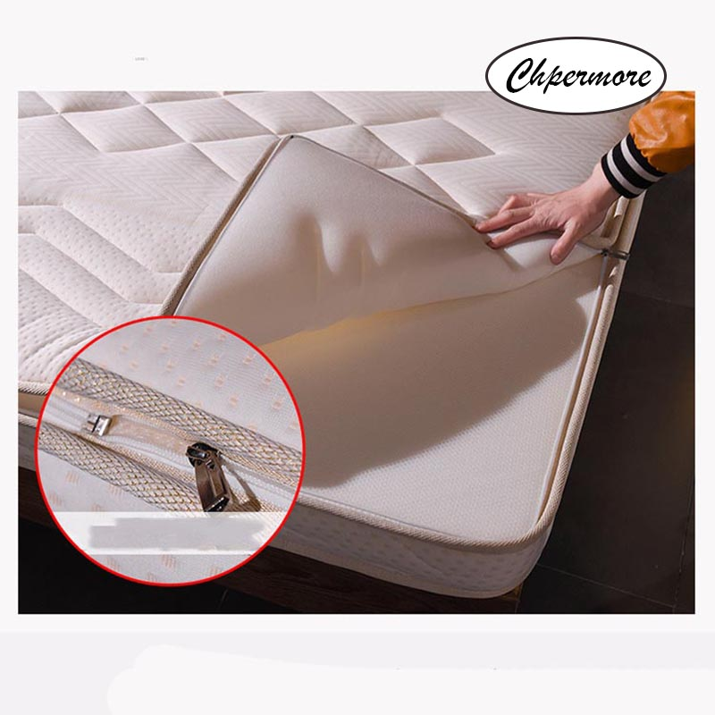 Image 4 - Chpermore thickening 10cm Memory foam Mattress Foldable Washable four seasons Tatami double Mattresses King Queen Size-in Mattresses from Furniture