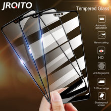 3PCS Curved Protective Glass on the For Samsung Galaxy A7 A8 2018 J4 J7 J6 J8 2018 J4 J6 A8 A6 Plus 2018 Tempered Glass(China)