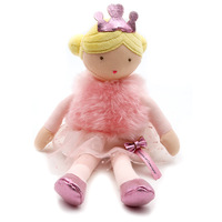 Soft Little Princess Doll series Cute Cartoon Girl Plush doll toys Girl Sleeping Toys High quality gifts