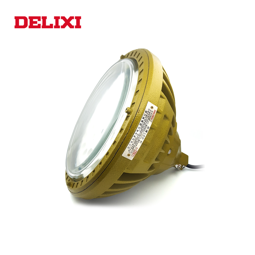 DELIXI BLED63 LED Explosion Proof Lights 120W 160W 200W IP66 WF1 AC 220V Long Life Flame-proof Type Industrial Factory Light