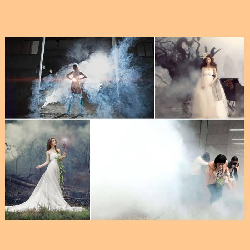 Принадлежности для Хэллоуина, красочный дымовой эффект для фотографии, дымовой торт, белый дымовой эффект, дымовая бомба, помощь для фотосъемки