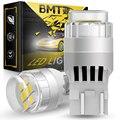 BMTxms Neue 2x Für Lada Kalina Granta Vesta T20 W21/5W 7443 LED DRL Treibenden Licht T10 w5w seite Richtung Anzeige Birne Canbus