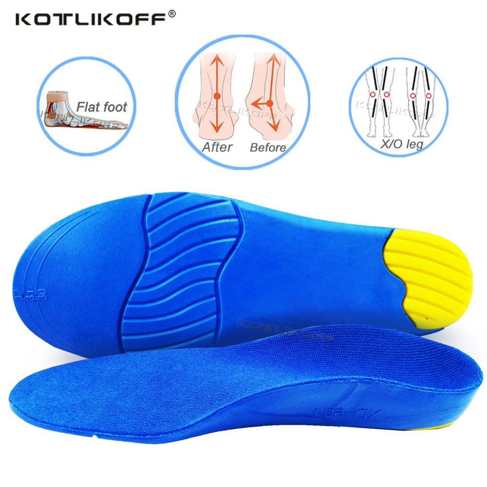 Children Orthopedic Shoes Insoles For Kids Feet FlatFeet Arch Support Treat Pronation Foot Valgus Orthopedic Pads For Shoes Sole