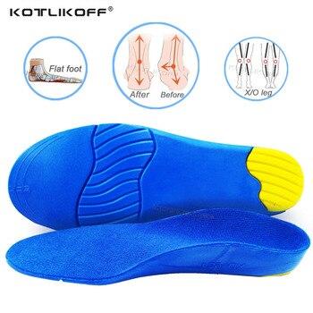 Plantillas ortopédicas para niños, plantillas para pies planos, soporte para ARCO, tratamiento de pronación, valgo para pies, almohadillas ortopédicas para suela de zapatos
