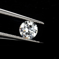 BOEYCJR 0.420ct G Color Lab Grown Diamond HPHT VS1 Round Brilliant Cut Loose Stone Excellent Cut Jewelry Making Stone