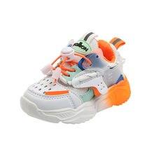 Детские кроссовки с мягкой подошвой для мальчиков и девочек