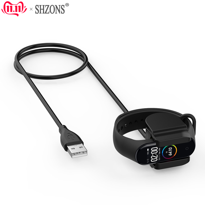 USB Charging Clip Cable For Xiaomi Mi Band 4 Fast Charger For Mi Band 4 Bracelet Data Cable Adapter For Mi Band 3 Charding
