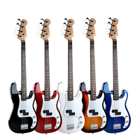 HOT 39 Inch Electric Guitar Concert Electric Bass Sycamore Xylophone 4 string Guitar Beginner Gift AGT198