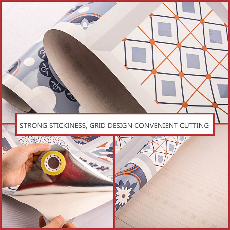 Waterproof For Bathroom Wallpaper Home Decor Kitchen Wall Stickers High Temperature Anti-Oil Paste Self-Adhesive Foil Furniture Home, Pets and Appliances cb5feb1b7314637725a2e7: 1|2|3|4|5|6|7|8