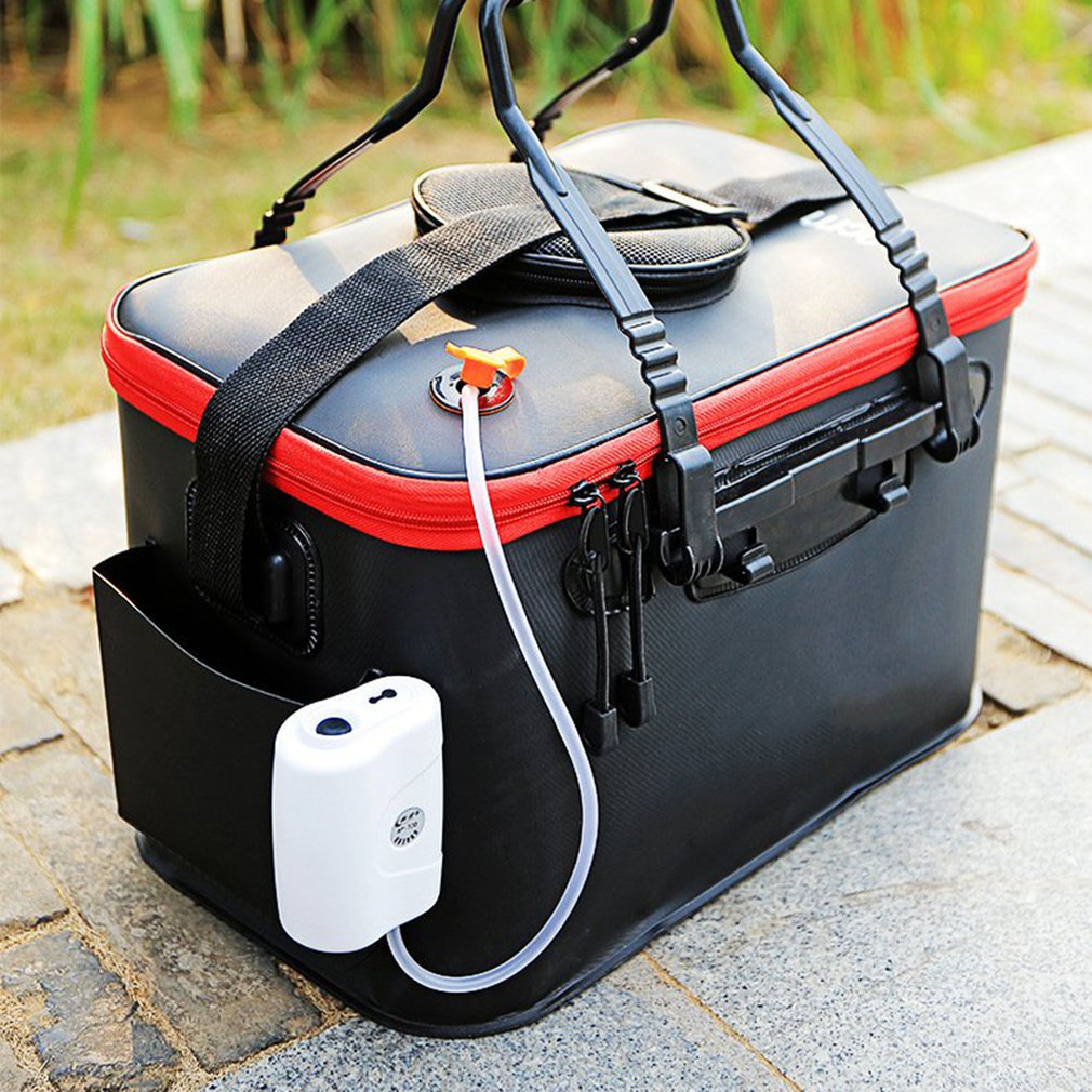 Ideal For Fishing Camping Barbecue Boating Gardening Bait Storage And Any Other Outdoor Live Fish Container