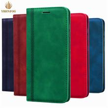 Magnetic Business Leather Case For Samsung A21S A31 A51 A20E A30 A40 A50 A32 A42 A72 A81 A91 Wallet Flip Card Holder Stand Cover