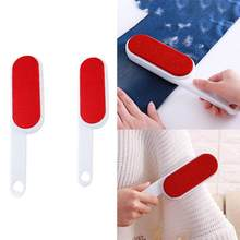 Reusable Hair Remover Double-Sided Sofa Clothes Cleaning Brushes Magic Dust Clean Furniture Brush Lint Sticking Roller(China)