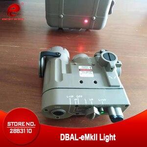 Element Airsoft, DBAL, linterna táctica, Arma de Armas, luz de DBAL-EMKII, IR, láser rojo, DBAL-D2 DE Armas IR, EX328
