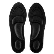 Orthotic Insoles Flat Feet Arch Support Memory Foam Insole Shoe Pad Comfort Black for Men(China)