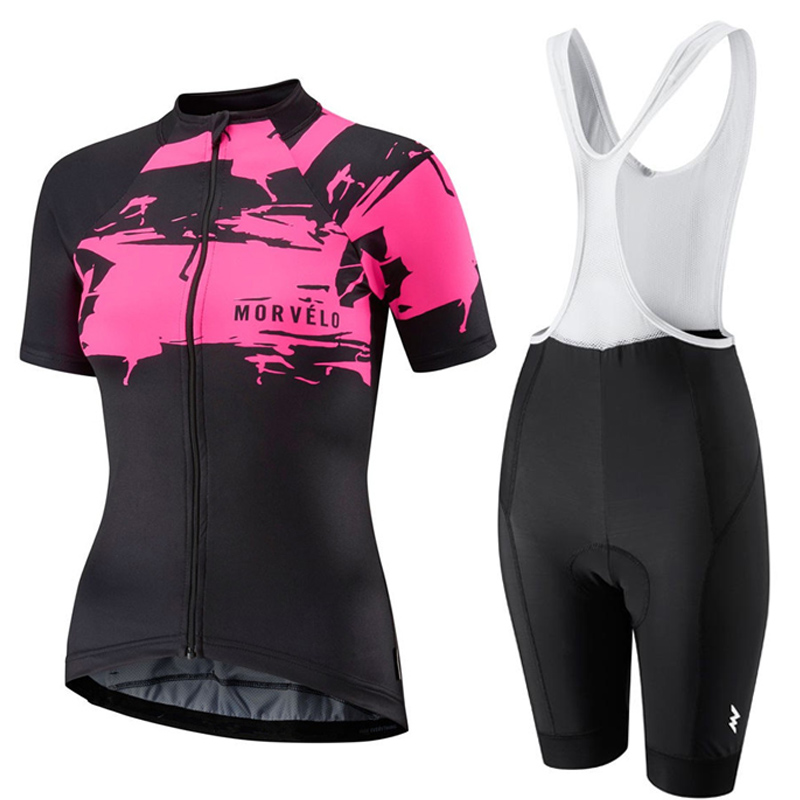 New 2019 summer women bike clothing cycling short sleeve Jersey bib shorts suits