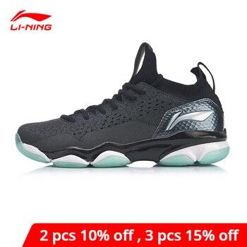 Мужская обувь для бадминтона Li-Ning SONIC BOOM 2,0, профессиональная обувь для бадминтона с наконечником, прочная спортивная обувь li ning AYZP001 XYY108