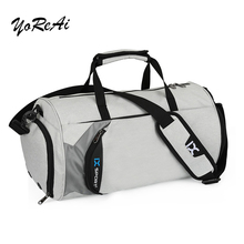 Gym-Bags Tote Fitness Travel Sport Women Male Yoreai for Outdoor Swim Dry Wet Yoga-Shoe