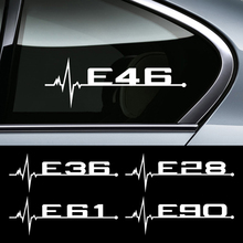 For BMW E46 E90 E60 E39 E36 E28 E30 E34 E61 E62 E91 E92 Car Accessories Car Personality Window Door Stickers And Decals