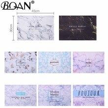 BQAN 12 цветов 1 шт. мраморный столик для ногтей моющаяся ручная Подушка для ногтей мраморная подушка для рук Подушка для ног настольный коврик инструмент для маникюра