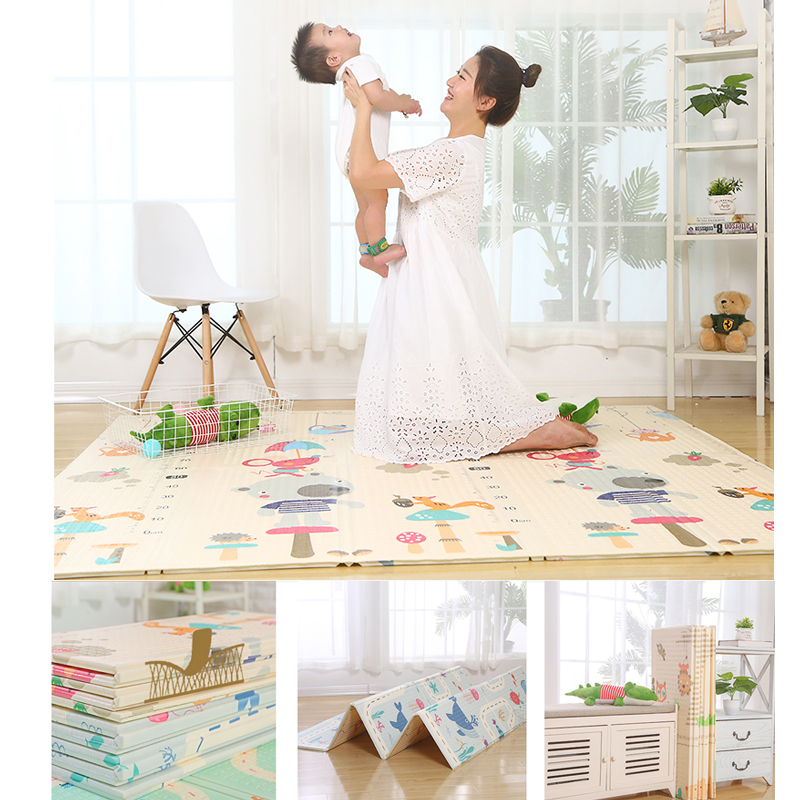 XPE Baby Play Mat Crawling Mat Double Surface Baby Carpet Rug Developing Mat for Children Game Pad in The Nursery Activity Gym