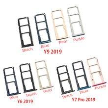 Porta-cartões sim, peça de substituição para huawei y6 y9 y7 pro 2019
