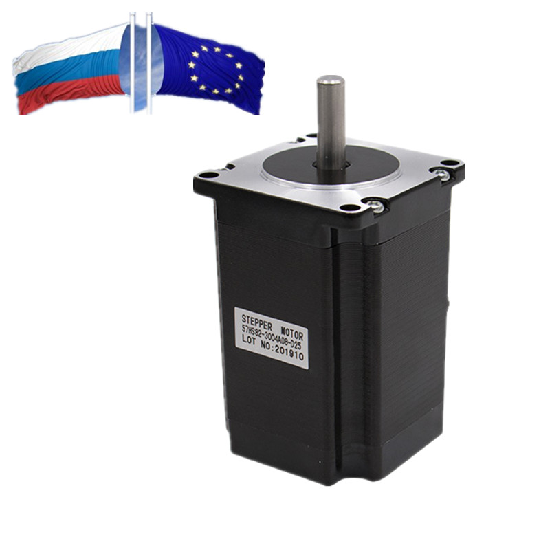 ES RU 57mm Nema 23 Stepper Motor 82 Mm Body Length 2.2 N.m Torque From China Low Price 315Oz-in Nema23 For CNC Router