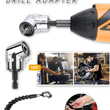 Bit-Kit Socket-Adapter-Tool Drill-Or-Screwdriver Angle-Extension Drill-Attachment Right-Angle