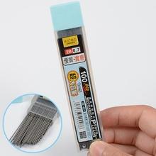 100 sztuk pudło grafitowy ołów 2B mechaniczny wkład do ołówka z tworzywa sztucznego automatyczne zastąpić ołówek 0 5 0 7 promocja tanie tanio discountHEH CN (pochodzenie) 0 5mm Pastille Refill Lead Zestaw