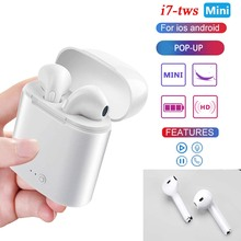 2020 new i7s Tws Wireless Headphones Bluetooth Earphones Earbuds Handsfree in ear Sports Headset with For iPhone Xiaomi Huawei