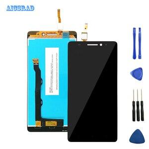 Image 3 - AICSRAD Originale 5.5 A CRISTALLI LIQUIDI Per Lenovo K3 Nota Display con Cornice K50 T5 di Tocco Digitale Dello Schermo per Lenovo K3 Nota display LCD