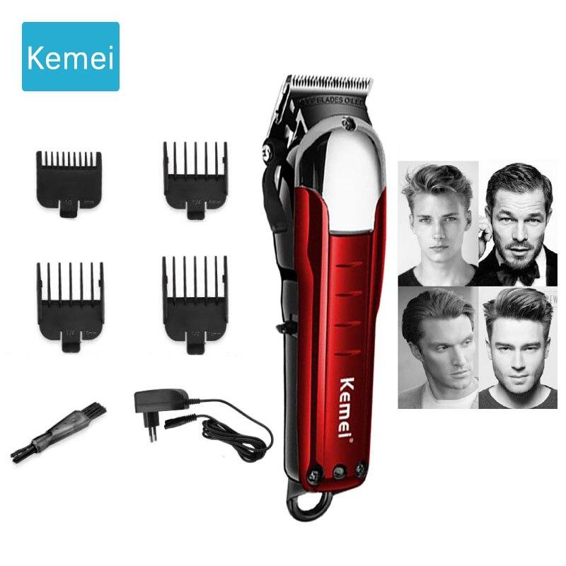 Tondeuse électrique Rechargeable tondeuse cheveux sans fil tondeuse professionnelle tondeuse cheveux rasage machine coupe 5