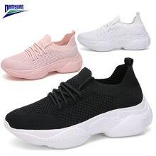 Damyuan/Женская обувь на плоской подошве; Новинка 2020 года;