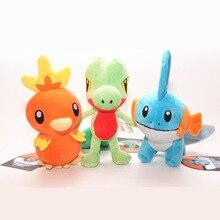 3 style 20cm/30cm Torchic Treecko Mudkip Anime Anime Doll Animal Cartoon Pocket Toy