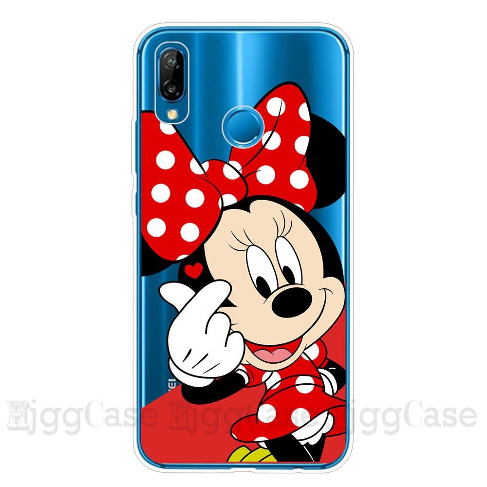 Cute Cartoon Phone Case Stitch Case For Huawei P30 P20 Lite Pro P10 Lite Soft Silicone For Huawei P40 Lite Pro Back Cover