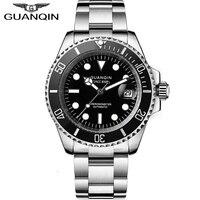 GUANQIN men watches top brand luxury Japan Movement waterproof mechanical Top Automatic clock men Sapphire Sport reloj hombre