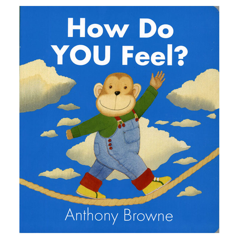 How Do You Feel With Anthony Brown's The Early Teaching Of The English Reading Picture Books Gifts Educational Toys For Children
