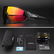 Ciclismo óculos polarizados mtb mountain bike ciclismo óculos de sol 5 lente ciclismo óculos ao ar livre