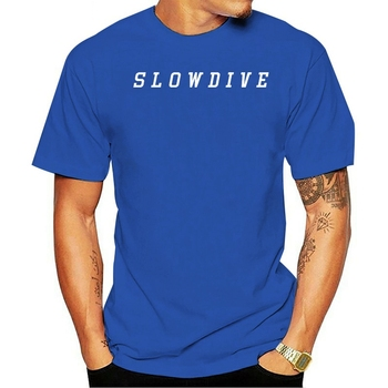 2021 Casual Fashion T-shirt 100% cotton Slowdive Shoegaze Ride MBV Unisex All Sizes image