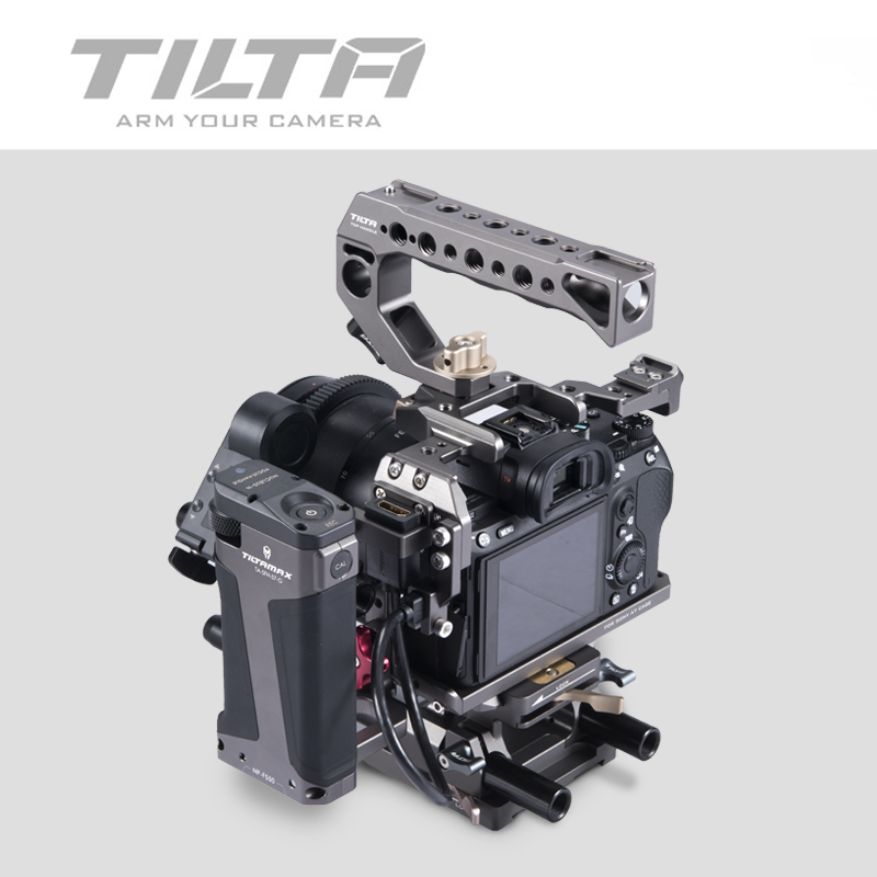 Image 3 - Tilta A7 A9 Rig Kit A7 iii Full Cage TA T17 A G Top Handle  baseplate Focus handle For Sony A7 A9 A7III A7R3 A7M3 A7S3Photo Studio  Accessories