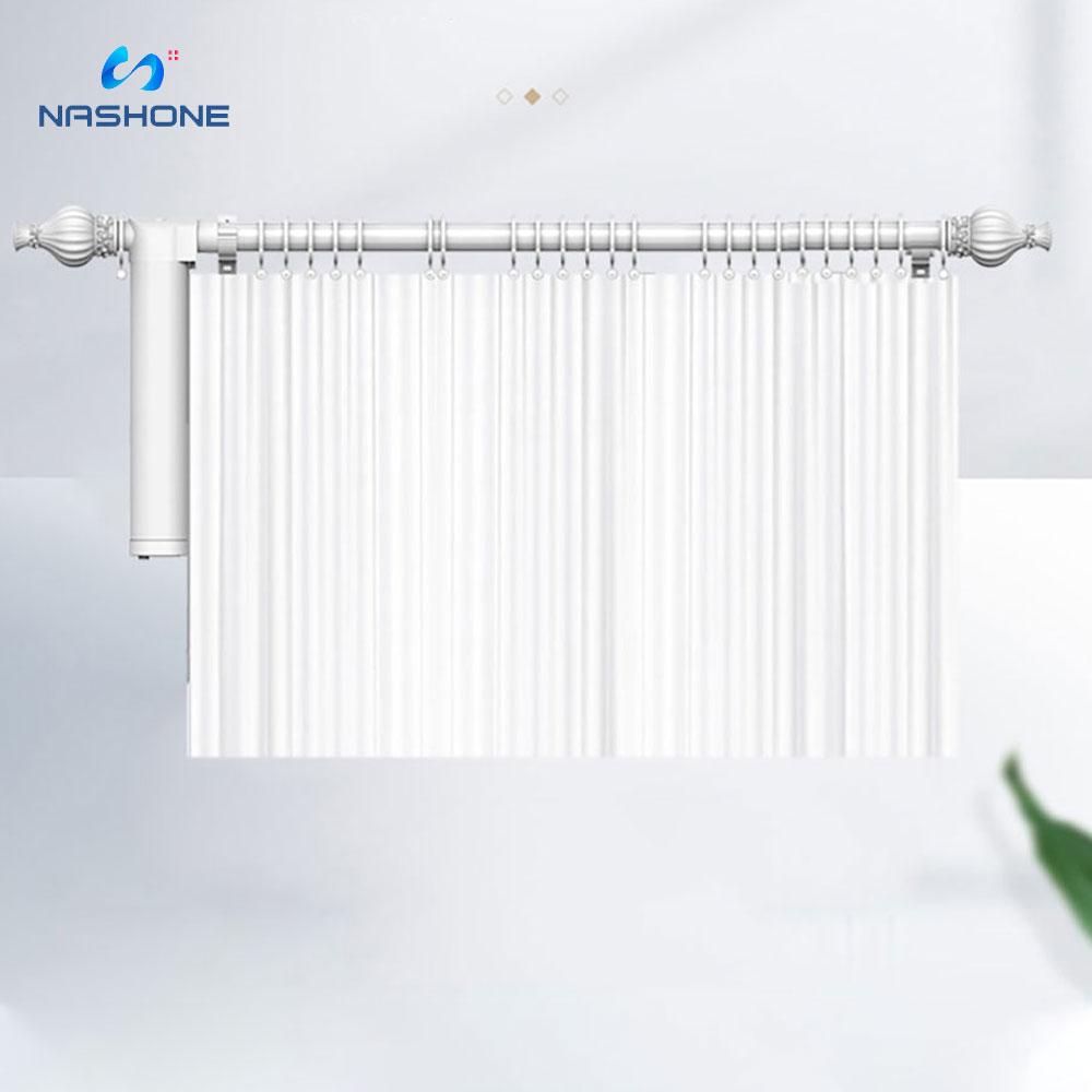Nashone Tuya Smart Home Curtain Motor Smart Life Motor Persiana Curtain Automation Control System Works With Alexa Google Home