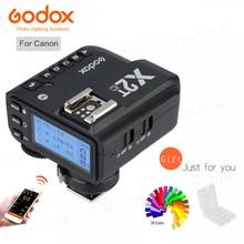 Godox X2T-C TTL 1/8000s 2,4G Беспроводной с триггерным управлением для цифровых зеркальных камер Canon и Godox TT685C TT350C V860II-C TT600 AD200