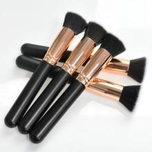 Foundation Brush Flat Kabuki Liquid Cream Buffing Dense Face Makeup Brushes Beauty Essential Cosmetic Tool