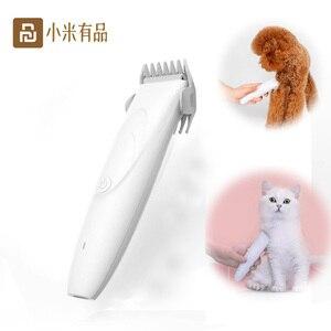 Image 1 - Youpin ماكينة تشذيب شعر الحيوانات الأليفة الكهربائية ، قابلة لإعادة الشحن عبر USB ، احترافية ، للعناية بالحيوانات الأليفة ، للكلاب والقطط