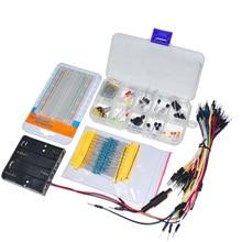 Полный комплект электронных компонентов Комплект технологического комплекта LED Кабель Резистор Потенциометр