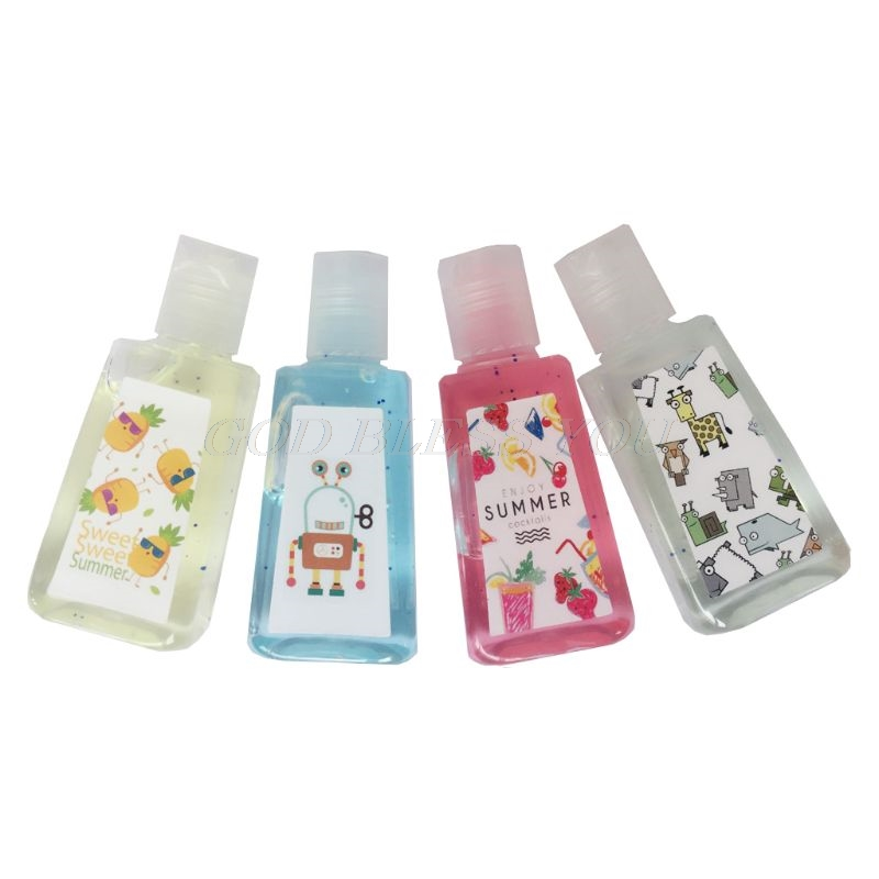 30ml Mini Hand Sanitizer Disposable Quick Drying Portable Clean Leakage-Proof Safe