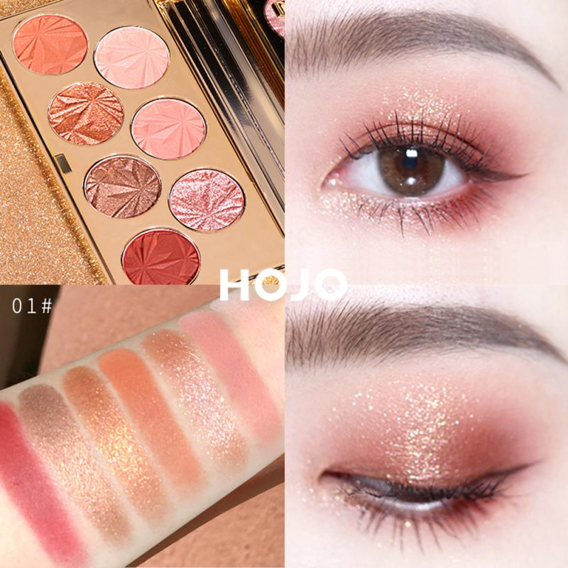Natural Earthy Matte Shimmer Eyeshadow Palette Sequin Glitter Eye Shadow Silky Soft Powder Long-lasting Brighten Cosmetics TSLM1