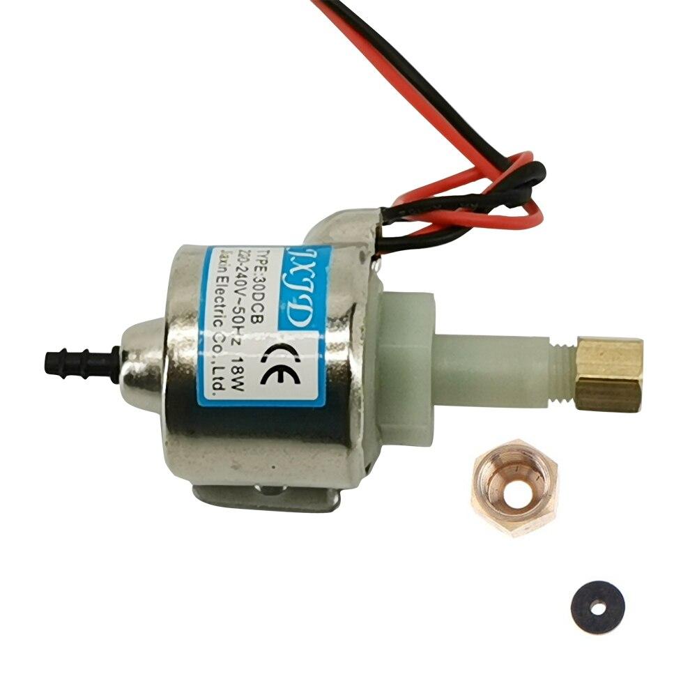 18W 30DCB Fog Machine Oil Pump 220V-240V AC Brass Fog Smoke Machine Oil Pump 400W 600W 900W 50HZ Stage Party Power Pump Parts